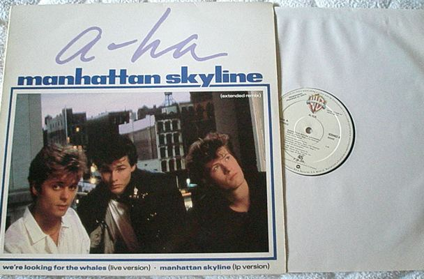 A-HA - MANHATTAN SKYLINE