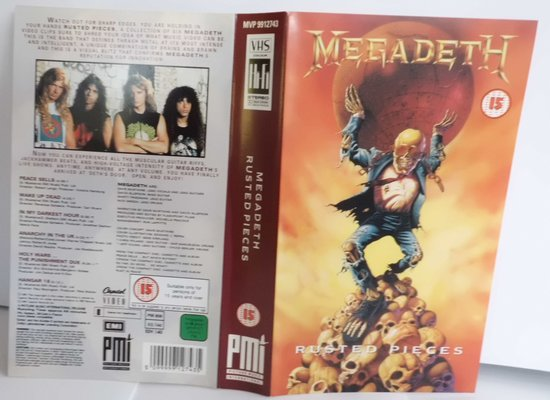 MEGADETH - RUSTED PIECES