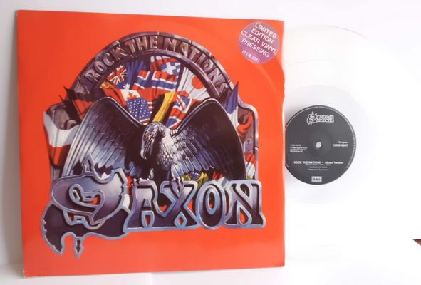 SAXON - ROCK THE NATIONS (LIMITED EDITION CLEAR VINYL PRESSING