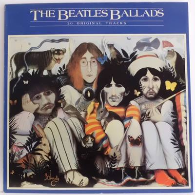 THE BEATLES-THE BEATLES BALLADS - 20 ORIGINAL TRACKS