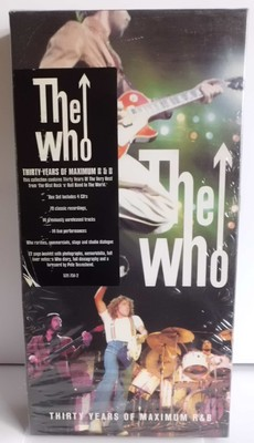 THE WHO - 30 YEARS OF MAXIMUM R&B