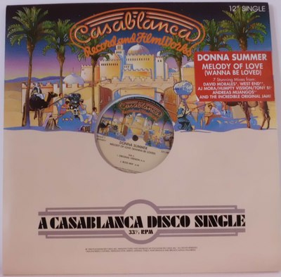DONNA SUMMER MELODY OF LOVE (WANNA BE LOVED)	CASABLANCA RECORD A