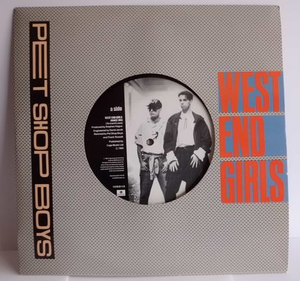 PET SHOP BOYS	 - WEST END GIRLS (dance mix) - A MAN COULD GWET A