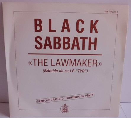 BLACK SABBATH - THE LAWMAKER