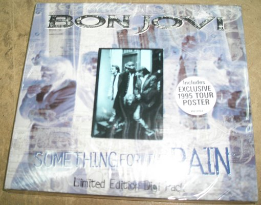 BON JOVI - SOMETHING FOR THE PAIN
