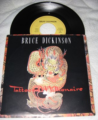 BRUCE DICKINSON - TATTOOED MILLONAIRE