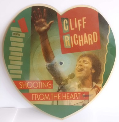 "CLIFF RICHARD	FROM ALBUM ""THE ROCK CONNECTION"" SHOOTING FROM THE"
