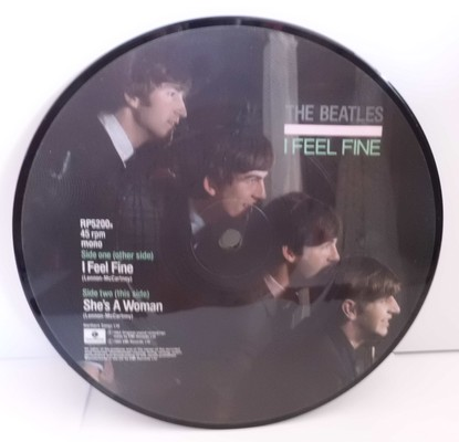 THE BEATLES - I FEEL FINE (mono) - SHE'S A WOMAN (mono)