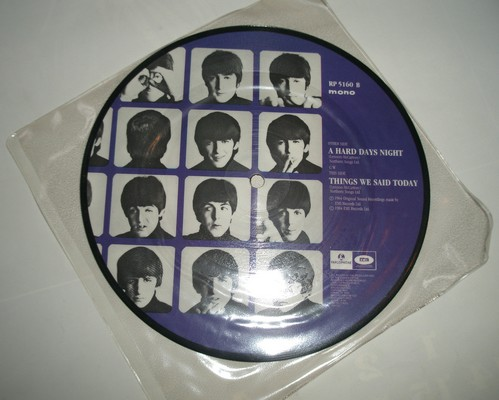 THE BEATLES - A HARD DAYS NIGHT - THINGS WE SAID TODAY (mono)