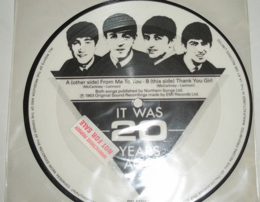 THE BEATLES - IT WAS 20 YEARS AGO - THANK YOU GIRL