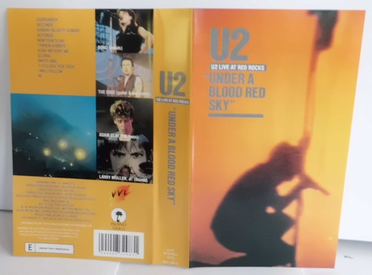 U2 - UNDER A BLOOD RED SKY (Live at red rocks)